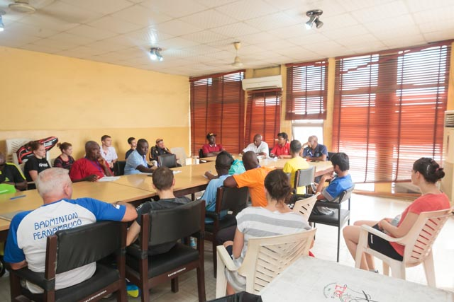 Managers meeting on Wednesday 15th of July 2015.