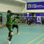 Day 3 of the 2nd Lagos International Badminton classics