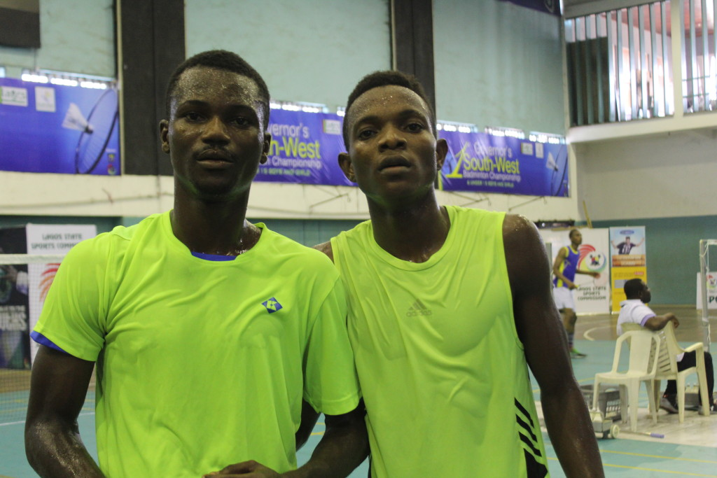 L-R: Clement Korobakpo shows goods sports after loss to Godwin...