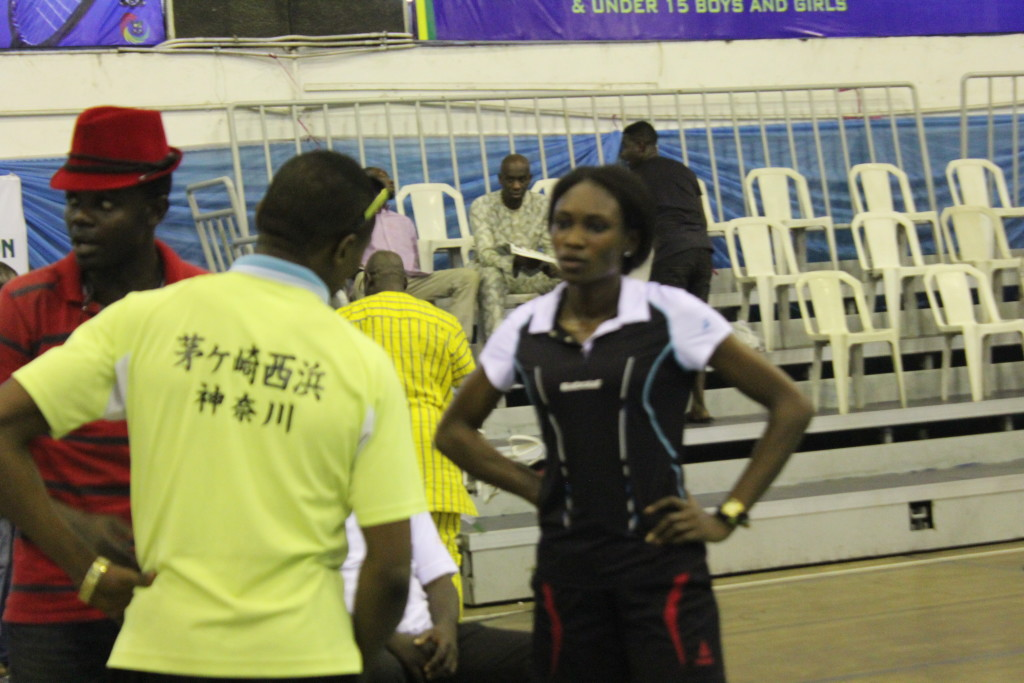 Women's Final: Coaches giving tactical instructions to Player-- Zainab