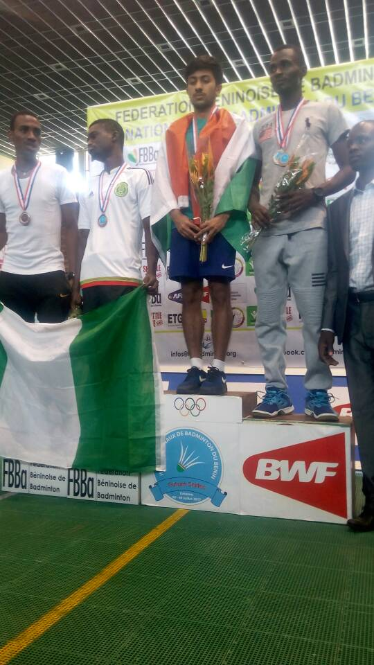 Podium call for team Nigeria
