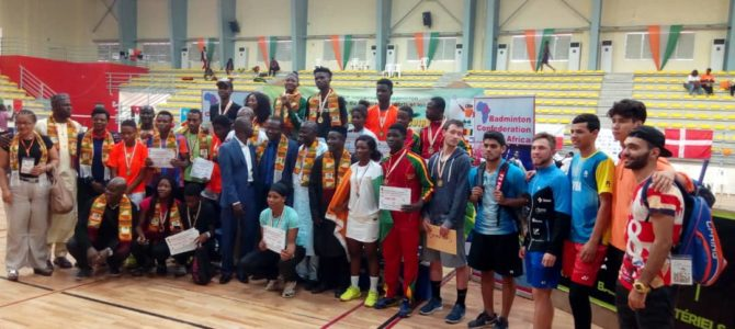 TEAM NIGERIA RETAINS BADMINTON CROWN IN COTE D'IVOIRE.